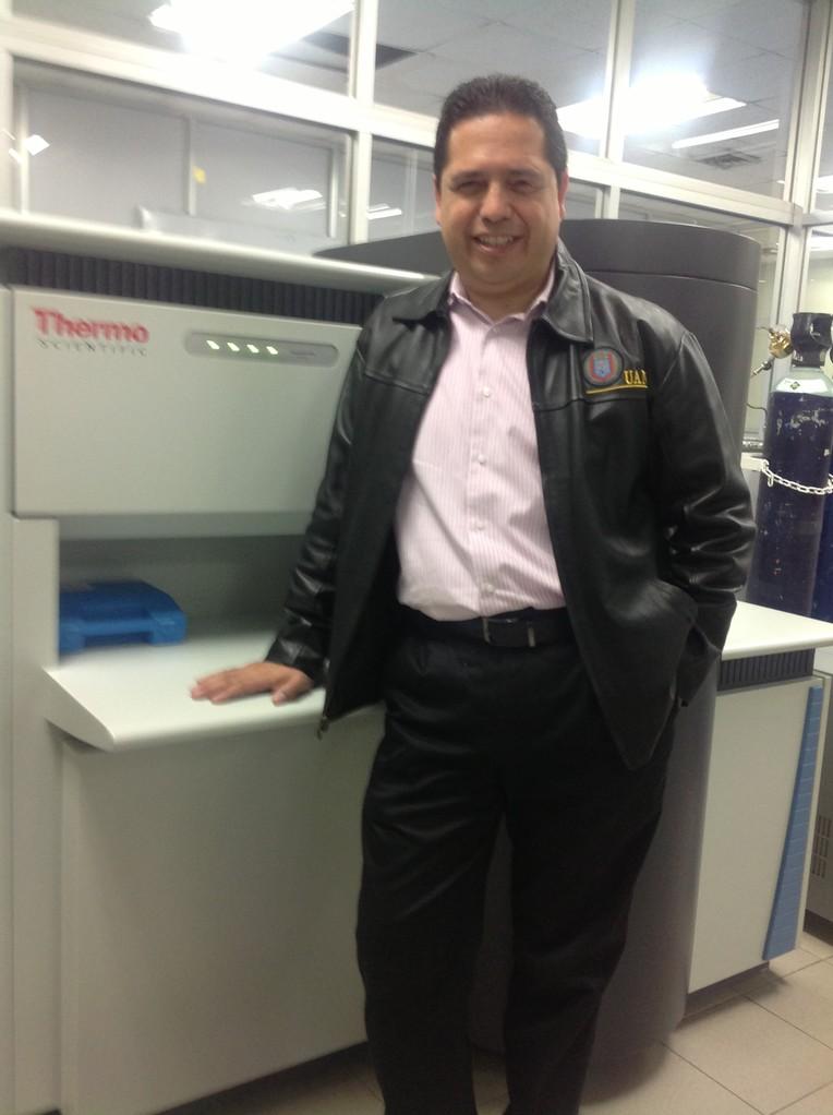 Prof. Alan Castillo. Laboratory FIME UANL