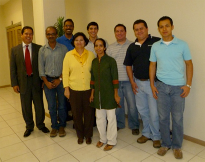 Team, Students and Professors. FIME UANL