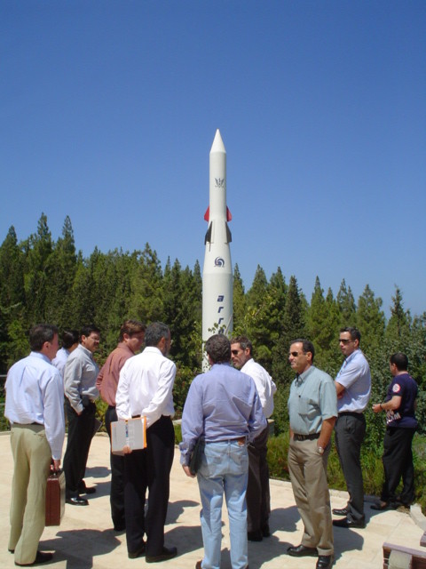 Visit to Air and Space Laboratory