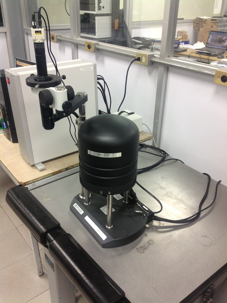 Atomic Force Microscopy Photoconductive. Laboratory FIME UANL