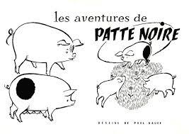 Test du Patte noire version cochon. Blog psychologue Montpellier