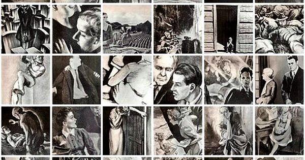 Série complète des planches du TAT, test de personnalité pour adultes.