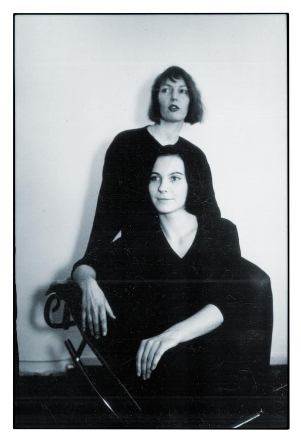 1992 mit Cornelia Franke, Frankfurt a. M. © M. Caspers