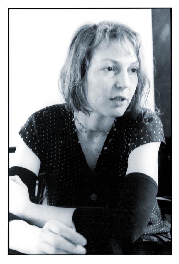 "1991 Atelier, Interview ""Frankfurter Rundschau"", Frankfurt a. M. © J. Zollna"