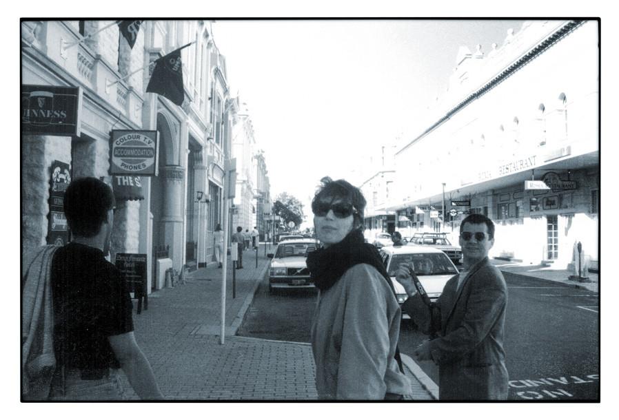 1994 BRIDGES, Workshop at Curtin University at Perth (WA) mit Götz Stöckmann und Martin Häusle
