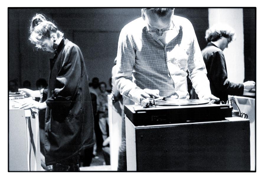 1989 Auftritt mit SLP beim ICMC, Köln. © T. Doerk