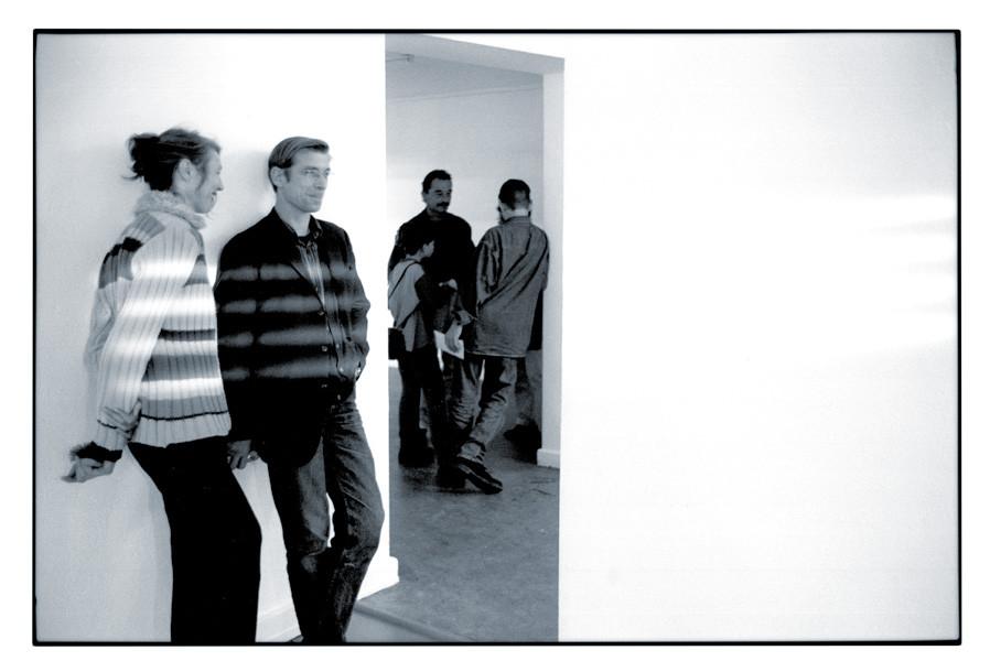 1999 DELOCATION, Lichtinstallation im Kulturzentrum Sittard, Eröffnung (NL) © ?