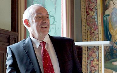 Dienststellenleiter mit besonderem Profil: Charles Vincent geht in Pension