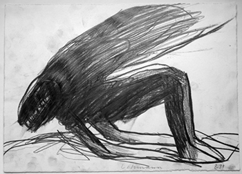 Otto Lehmann, Zeichnung undatiert