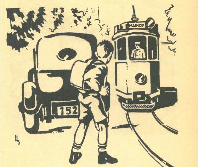 Trouvaille: Hans Erni - Illustrator eines Luzerner Schulbuchs