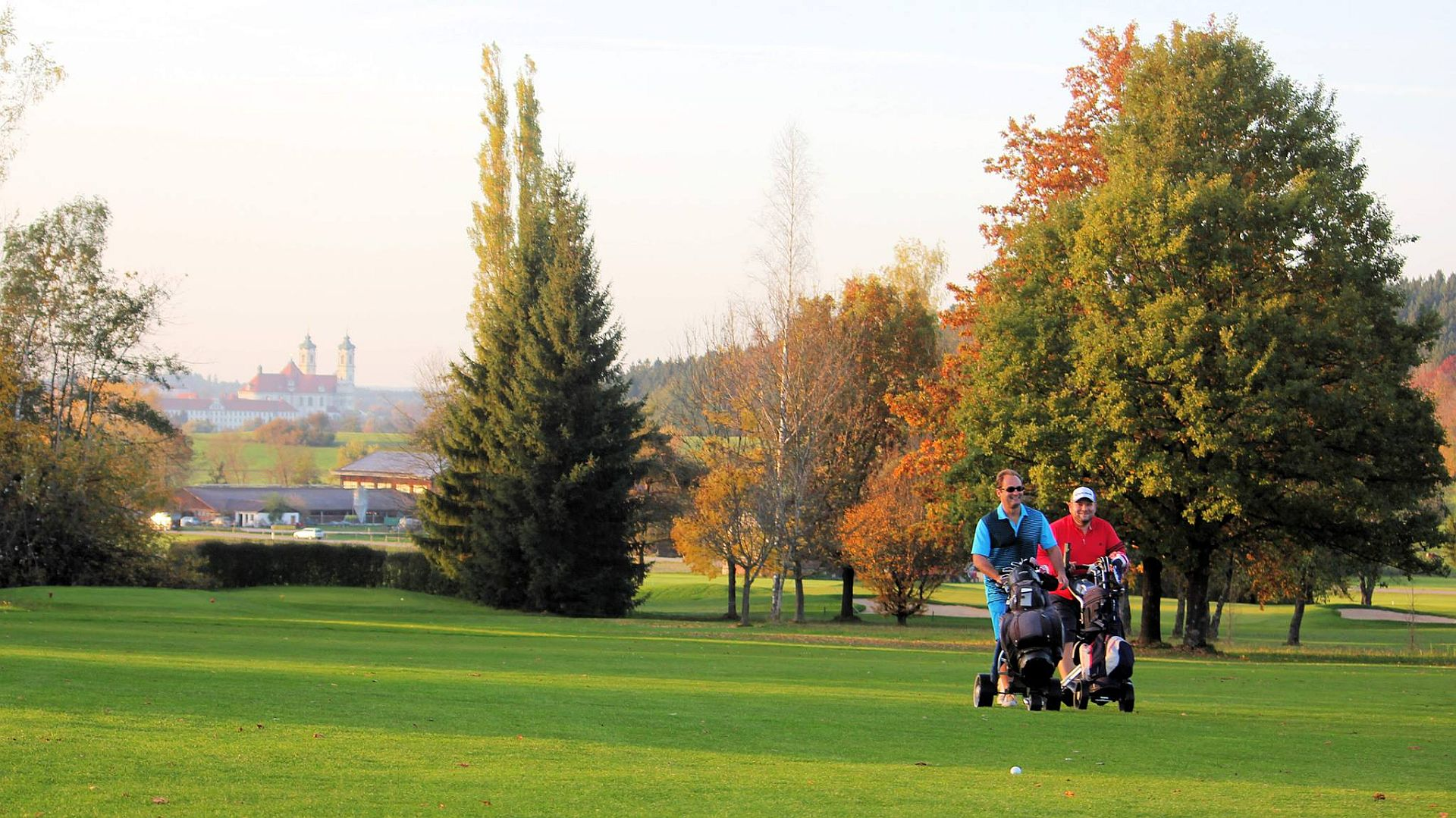 Allgäuer Golf- und Landclub, Bahn 9/Foto: Stephan Schöttl