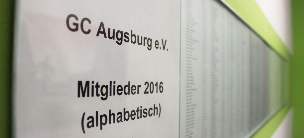 Noch immer ist Langer Mitglied beim GC Augsburg (c) Stephan Schöttl