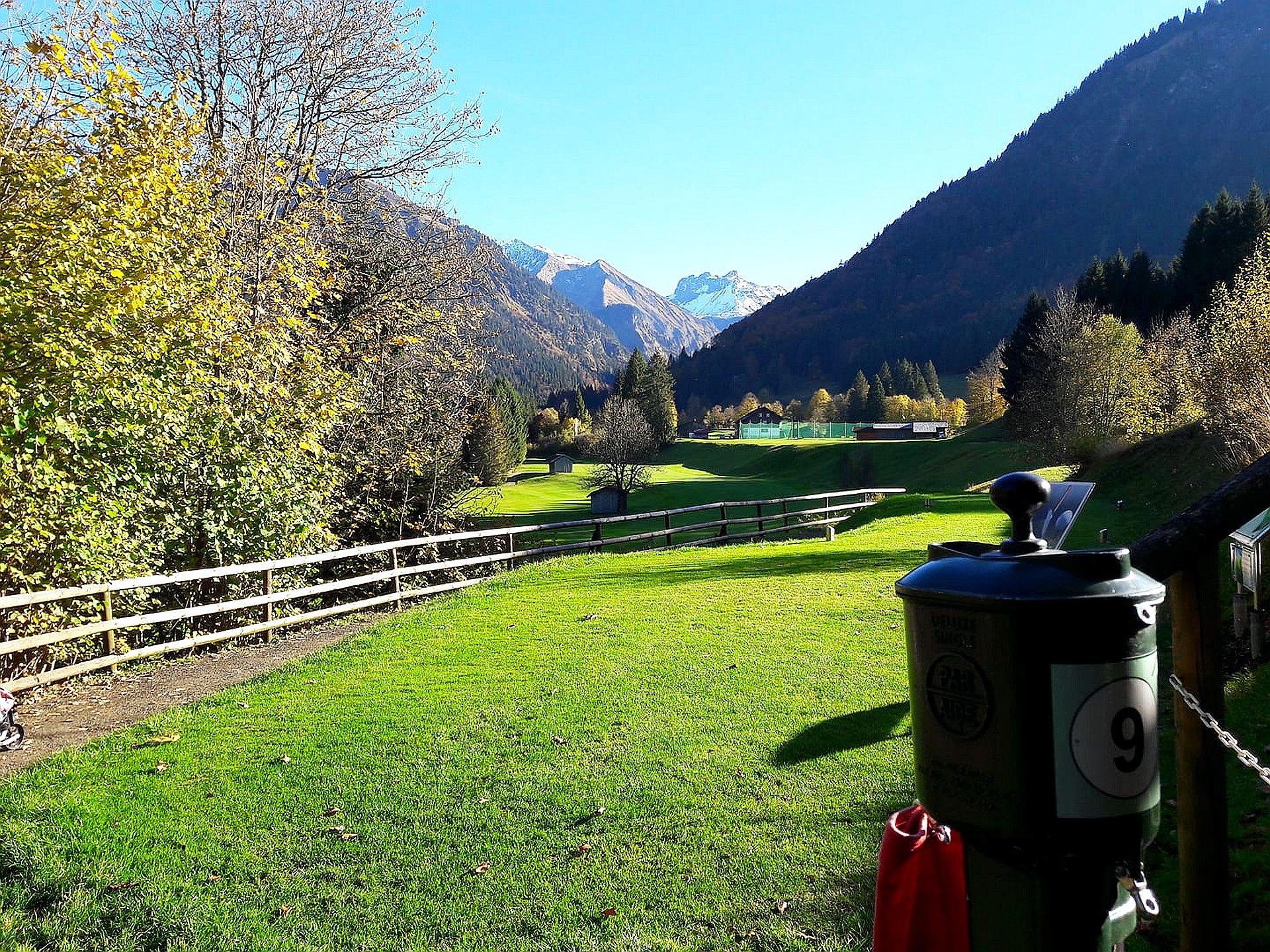 Golfclub Oberstdorf, Bahn 9/Foto: Michael Fischer
