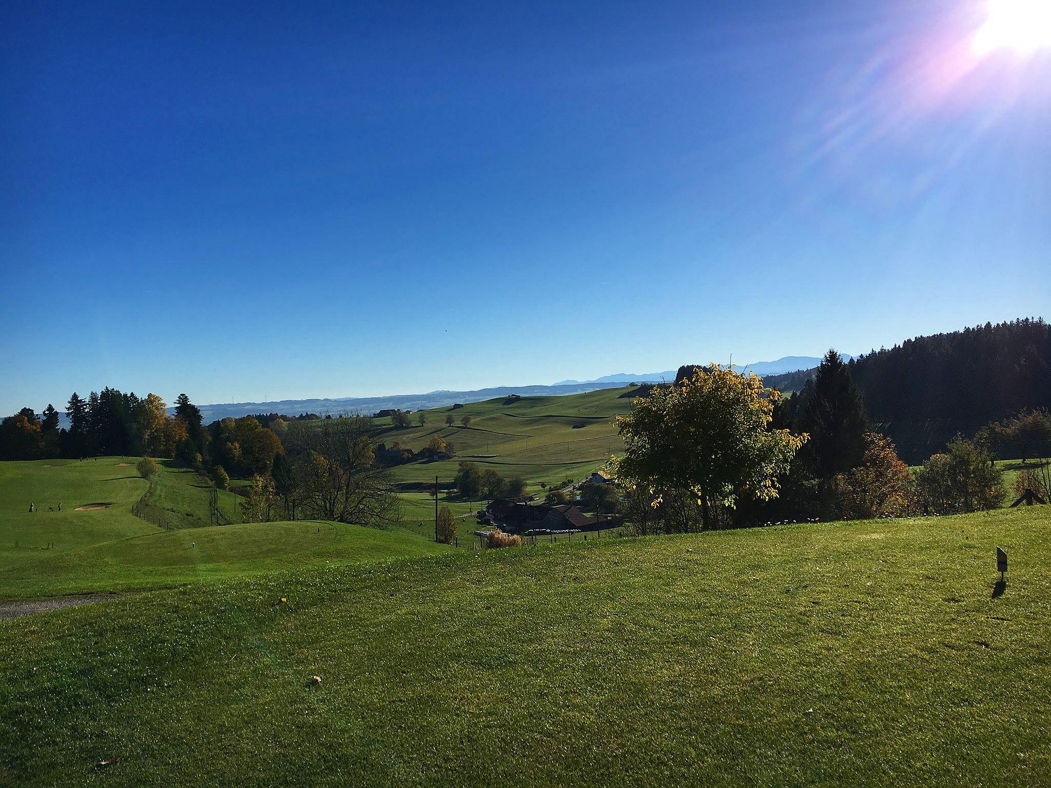 Golfclub Waldegg-Wiggensbach, Zugspitzkurs, Bahn 1/Foto: Rainer Scherrieble