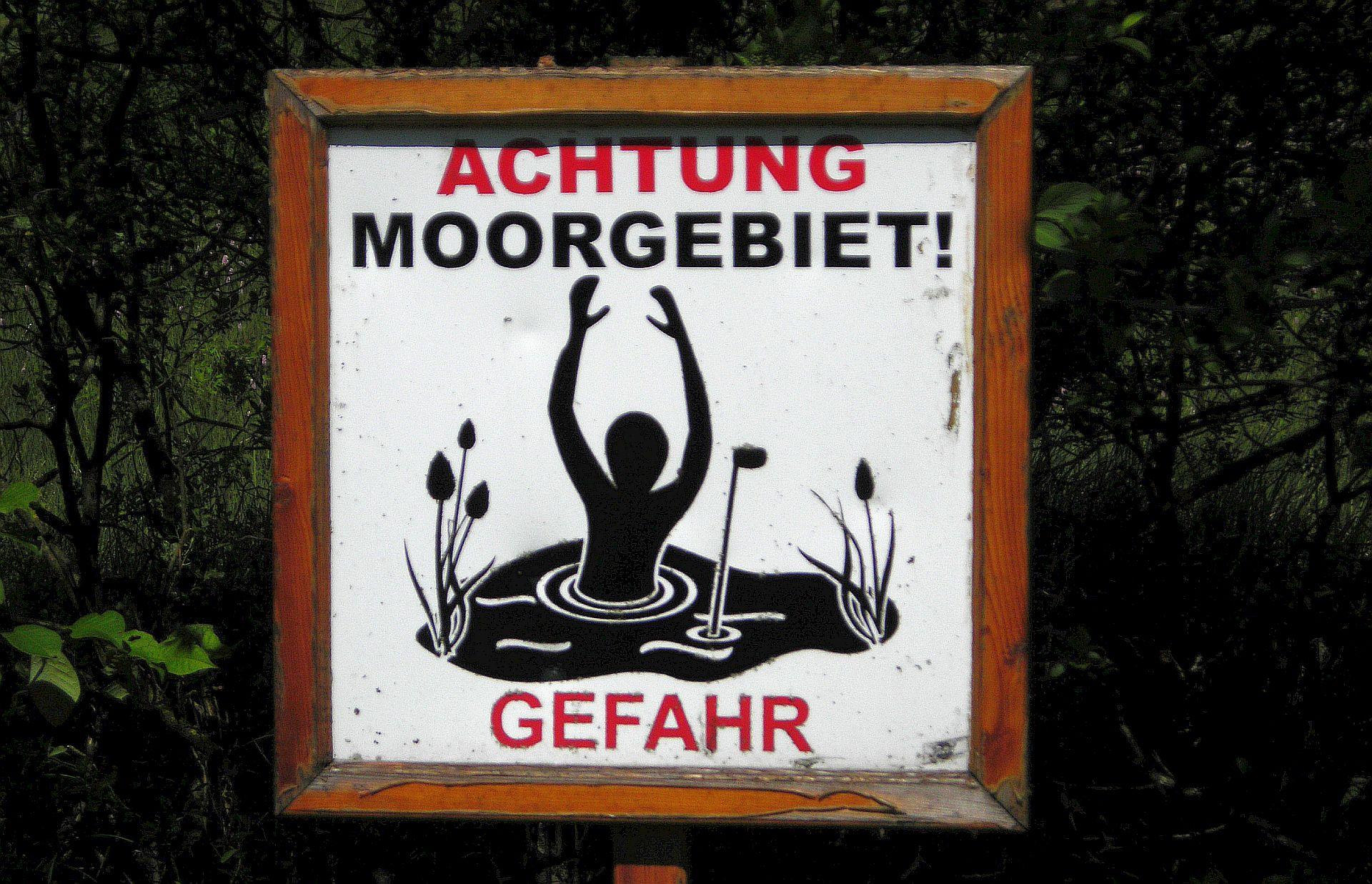 Bloß nicht abtauchen! Gesehen im GC Berchtesgadner Land (Foto: Stephan Schöttl/alpengolfer.de)