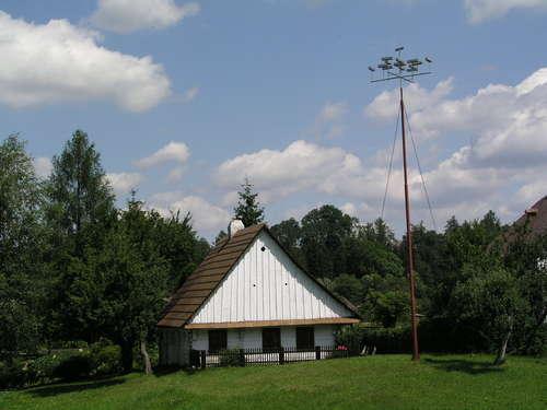 rodný domek Prokopa Diviše v Helvíkovicích (Žamberk)
