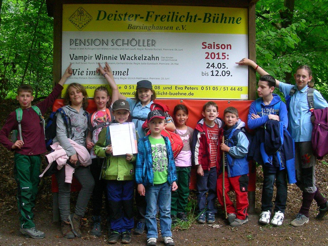 Besuch der Deister-Freilicht-Bühne