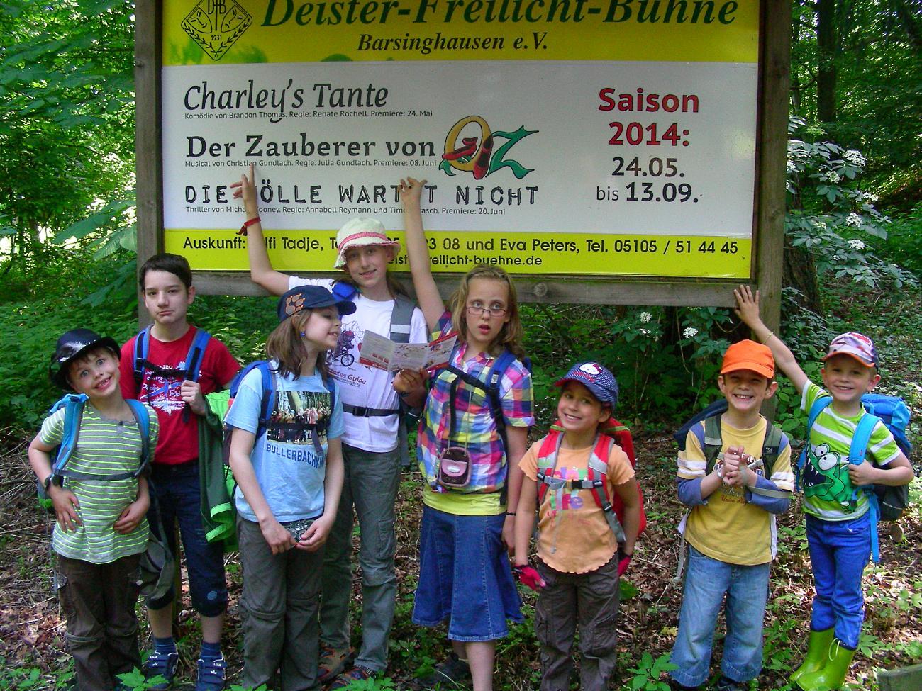 Deister-Freilichtbühne 2014