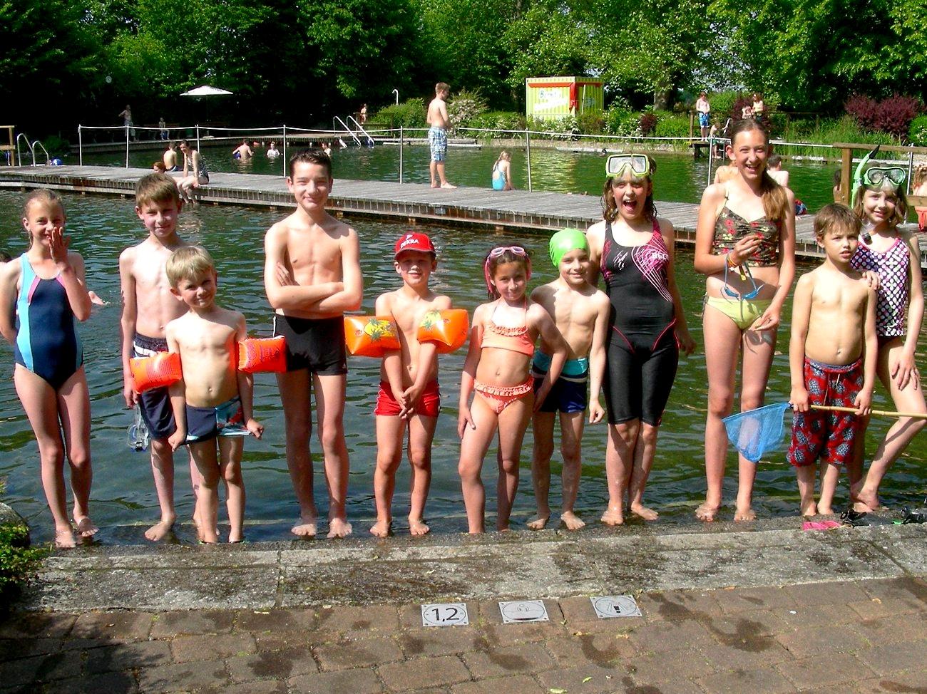 Im Natur-Erlebnis-Bad Wennigsen