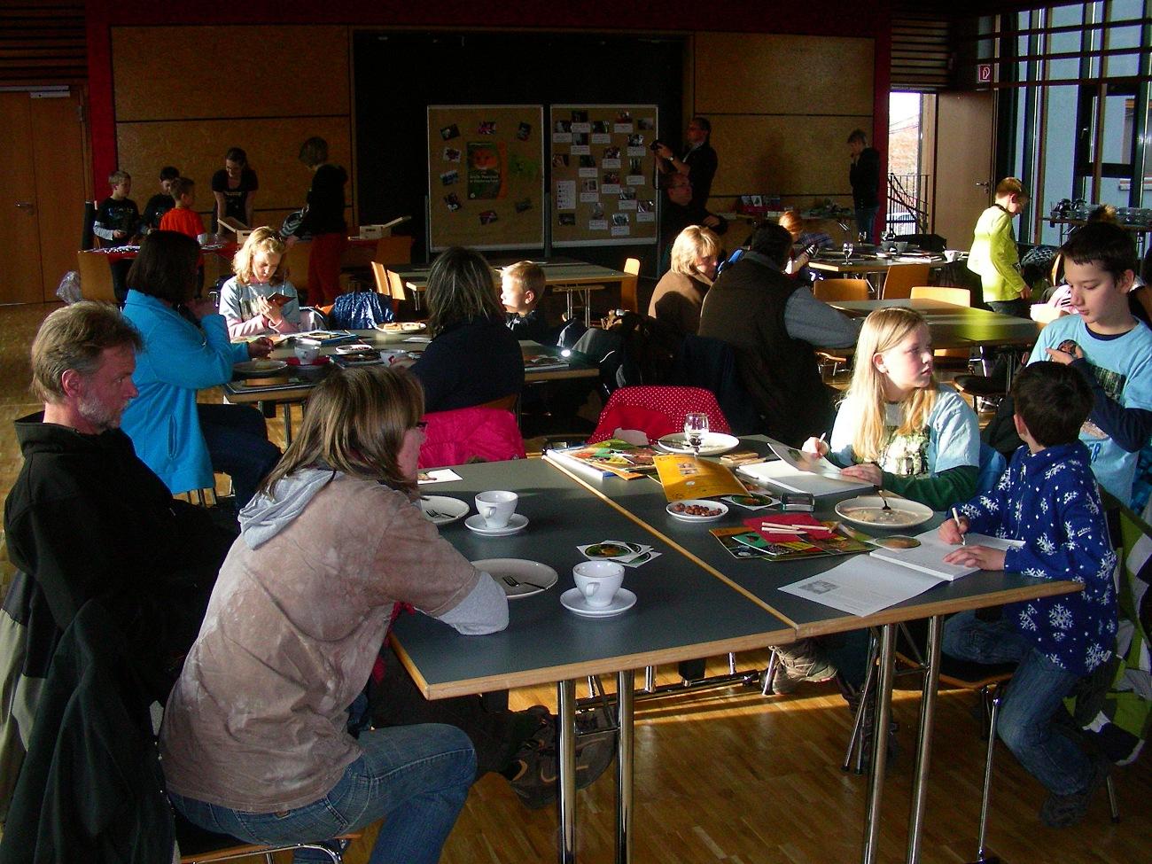 Das große Haselmaus-Abschlussfest 2012