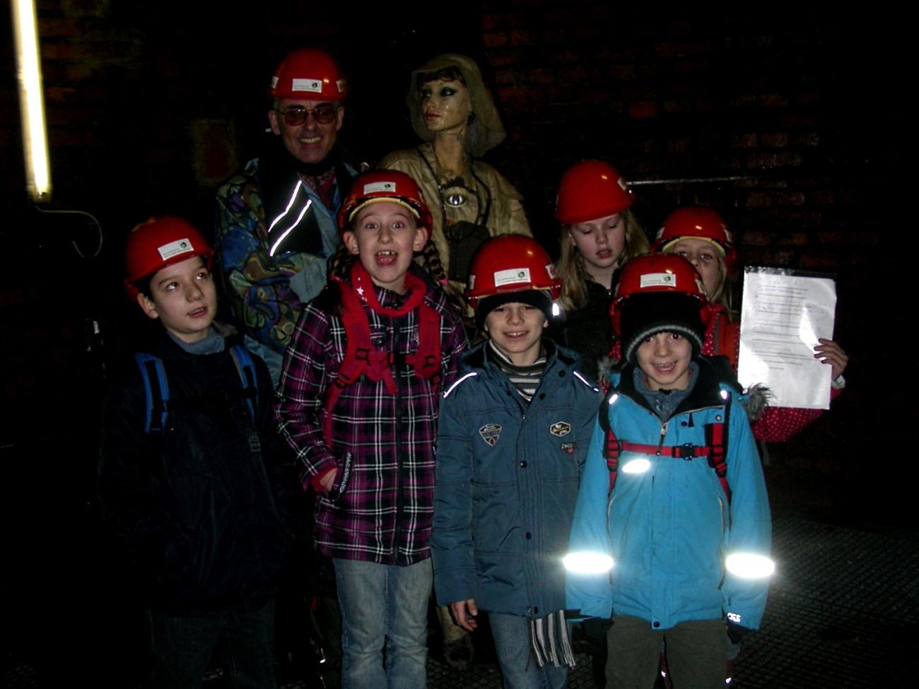 Besuch im Klosterstollen 2012
