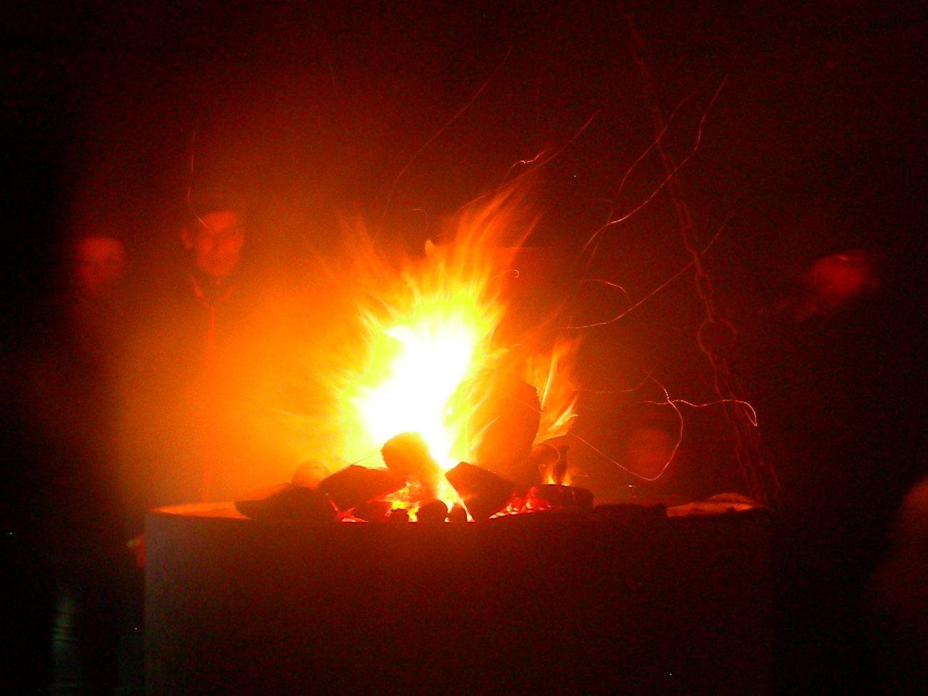 Jahresabschluss-Feuer 2014