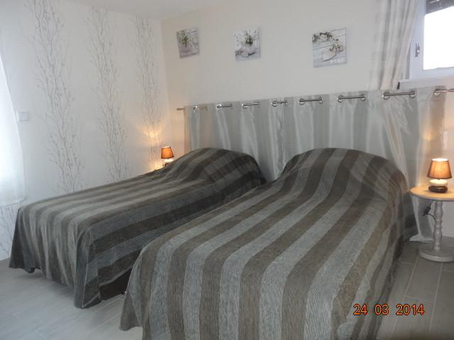 suite de la chambre N°3  2 lits d'une personne