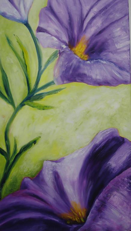 Prachtwinde   2011        50 x 90 cm