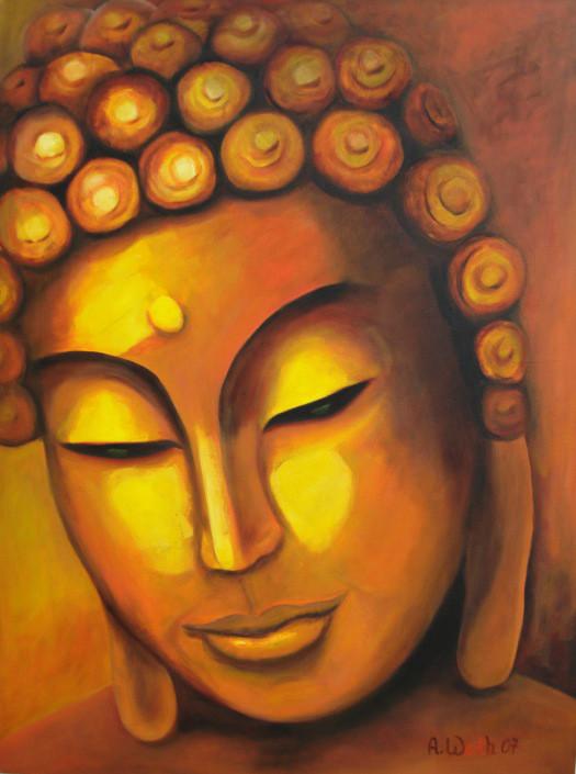 Buddha     2007       40 x 50 x 4 cm
