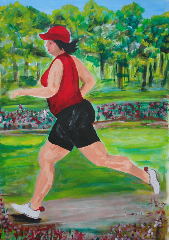 Jogging    50 x 70 cm