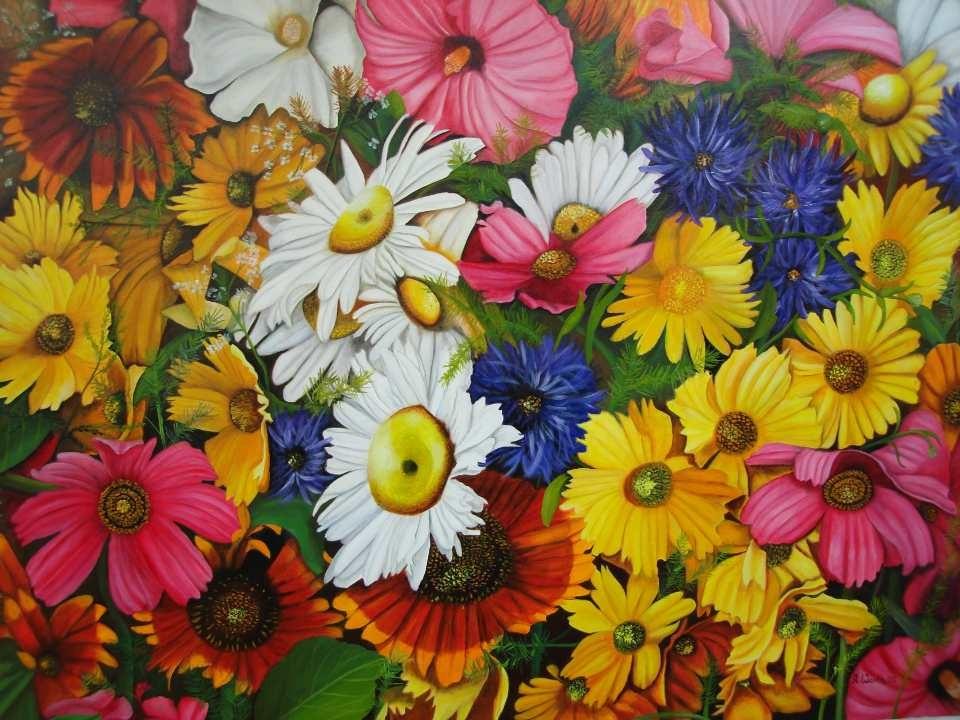 Blütenträume     2002       120 x 80 cm