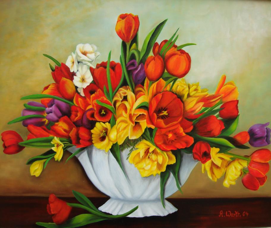 Tulpen 2004       60 x 50 cm