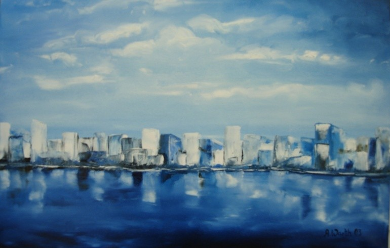 Skyline  2001    60 x 40 cm