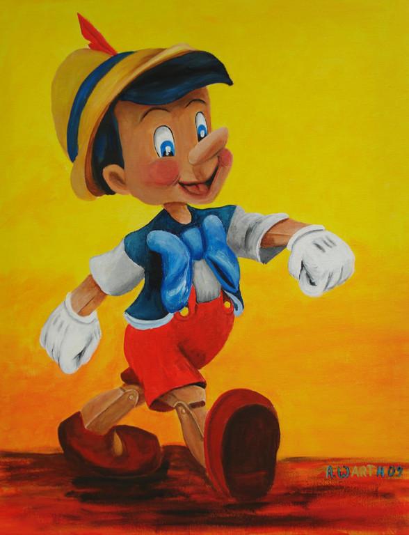 Pinocchio   40 x 50 cm