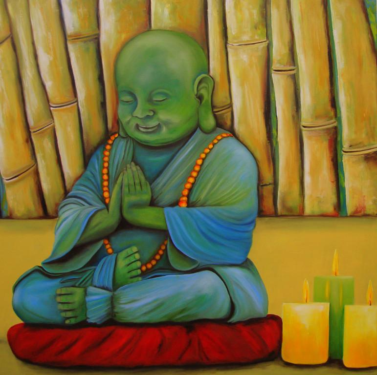 Buddha   2011       100 x 100 cm