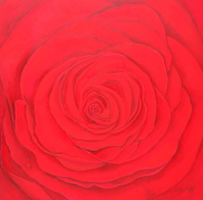 2008    Edda   100 x 100 cm  Acryl