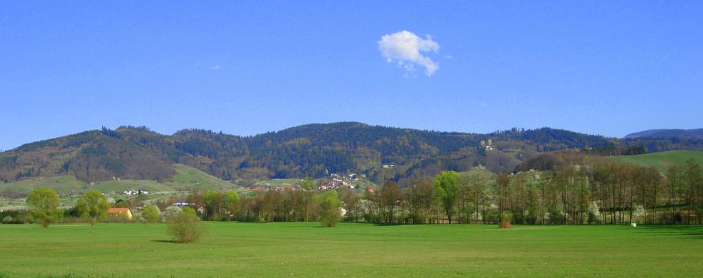 Blick auf Bühl-Kappelwindeck