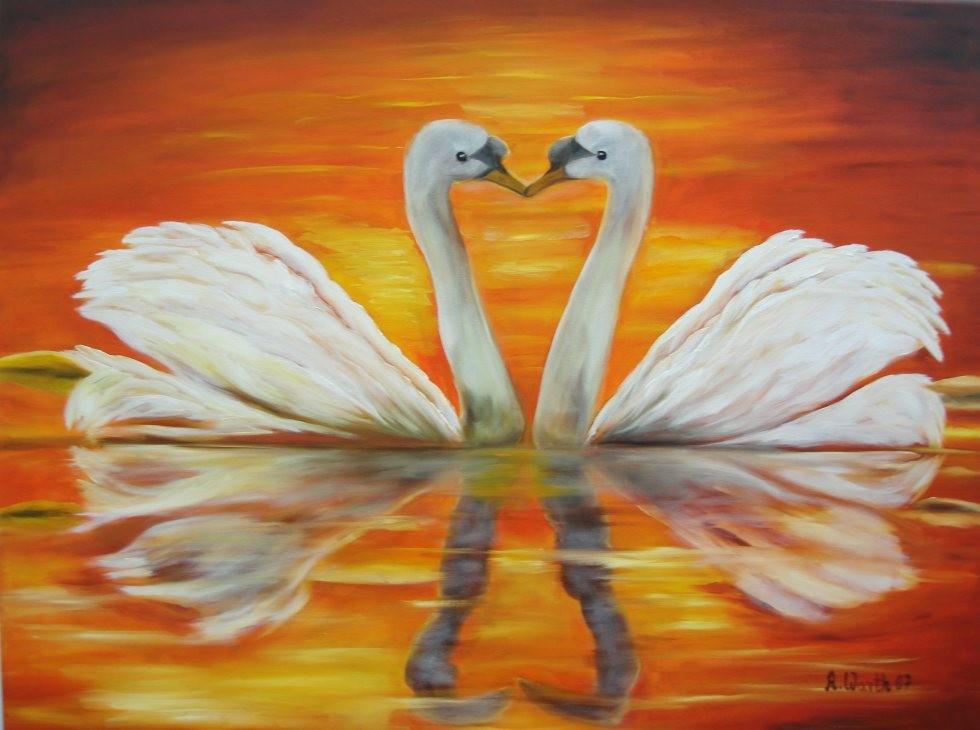 Liebe ist.... 70 x 50 cm