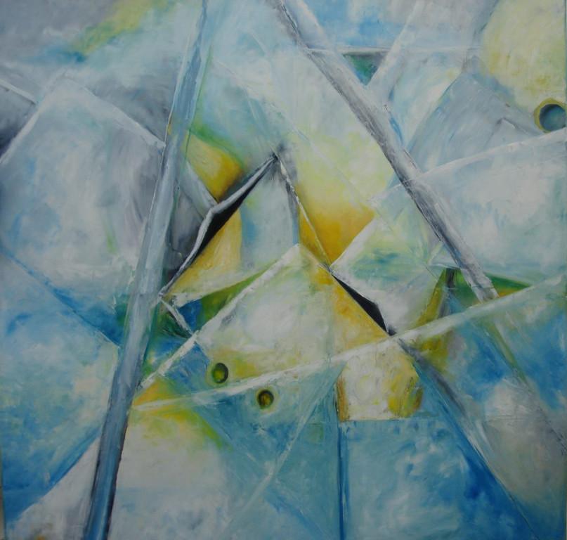 Kristall   100 x 100 cm    2010