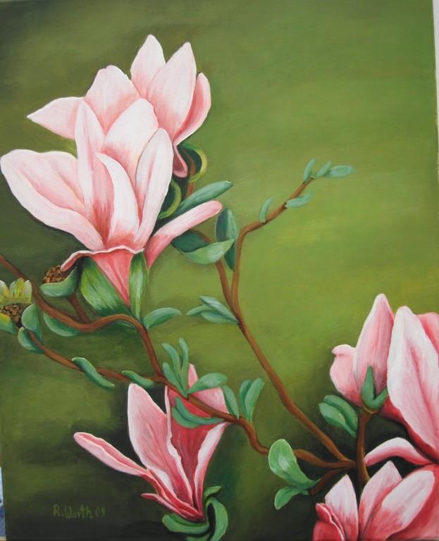 Magnolie   2000      40 x 50 cm