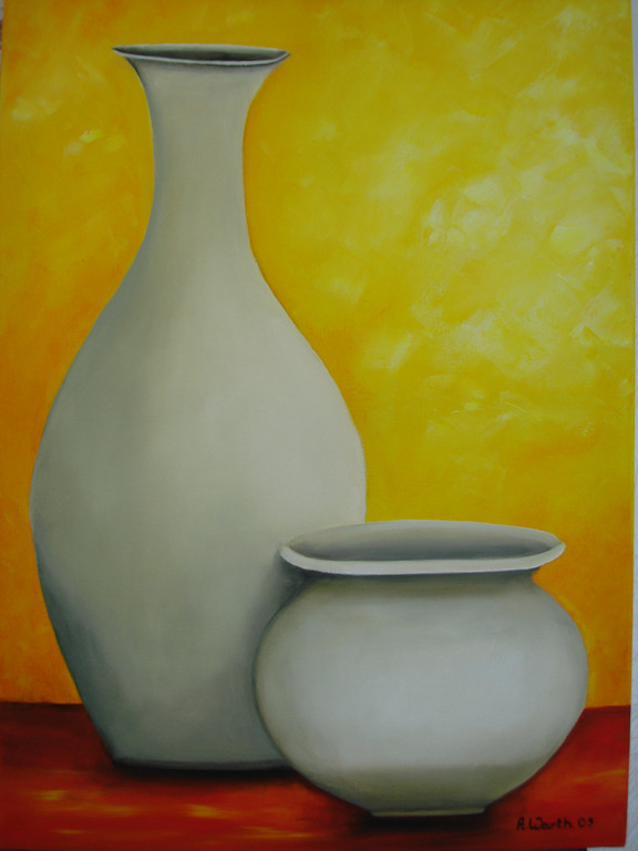 2 Vasen      2009       50 x 70 cm