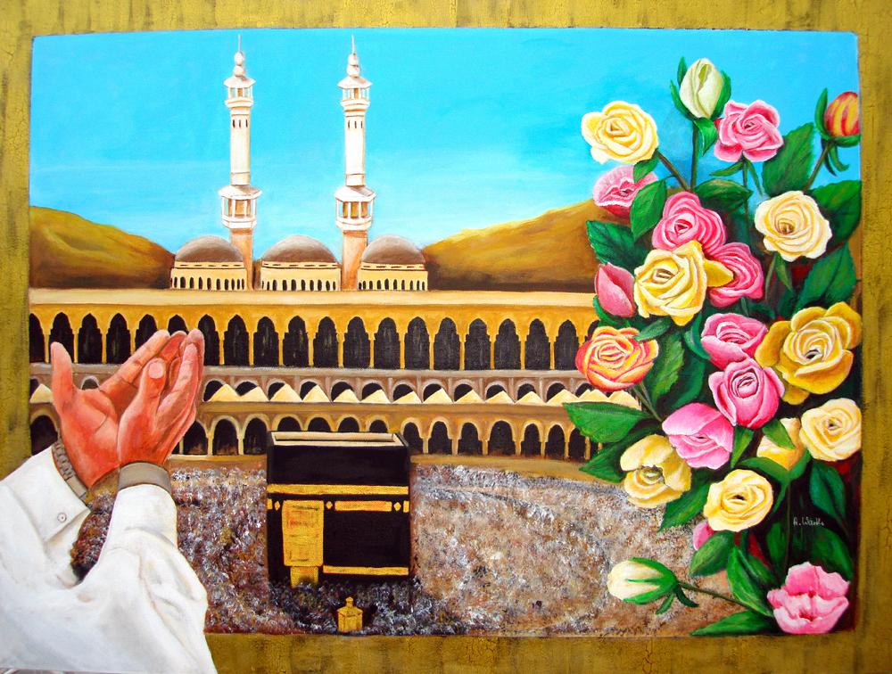 Kaaba  2012        80 x 60 x 4 cm