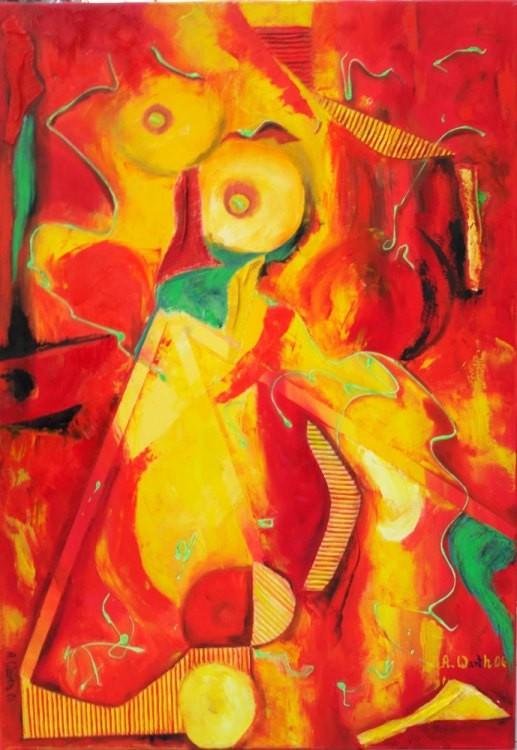 Venus von Baden  70 x 100 cm   2006