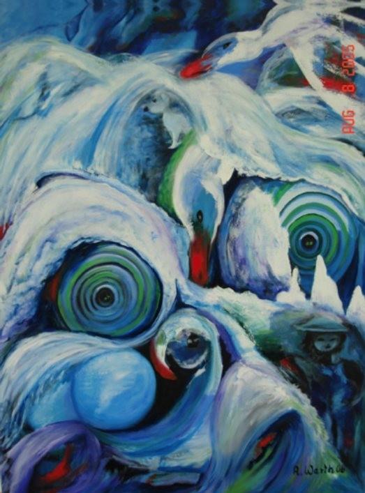 Paule  60 x 80 cm       2006