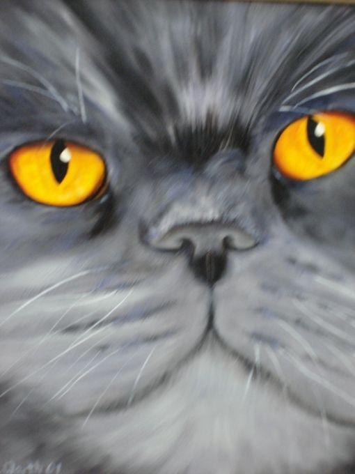 Garfield   2001    24 x 30 cm  Öl