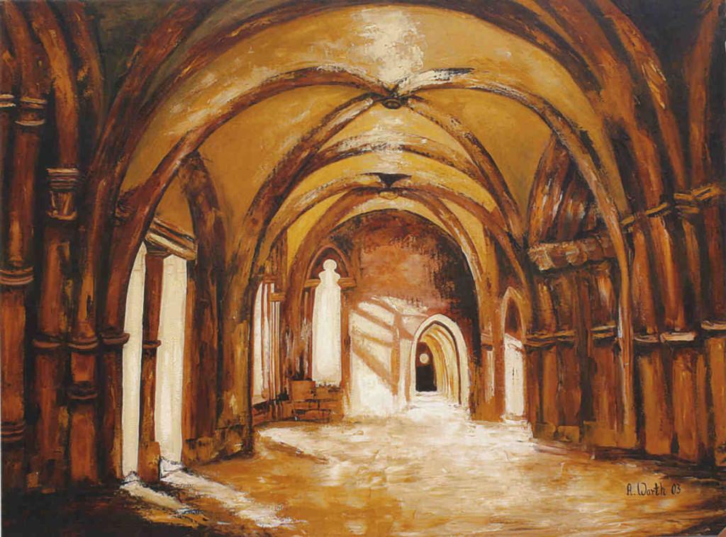 Kloster Maulbronn   2003     120 x 90 cm