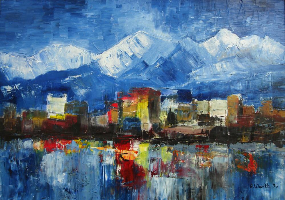 Landschaft 70 x 50 cm