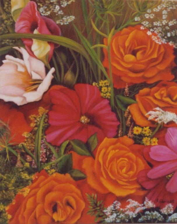 2003  Blütenpracht    40 x 50 cm