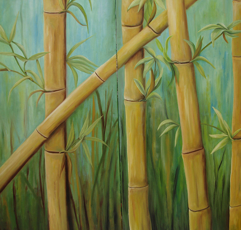 Bambus   2011    2 je 50 x 100 cm