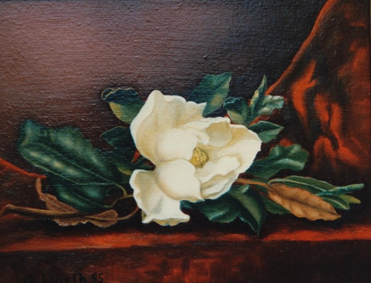 """Heide"" 1993  24 x 20 cm"